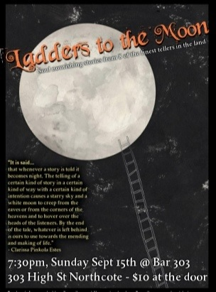 Ladders to the Moon flyer